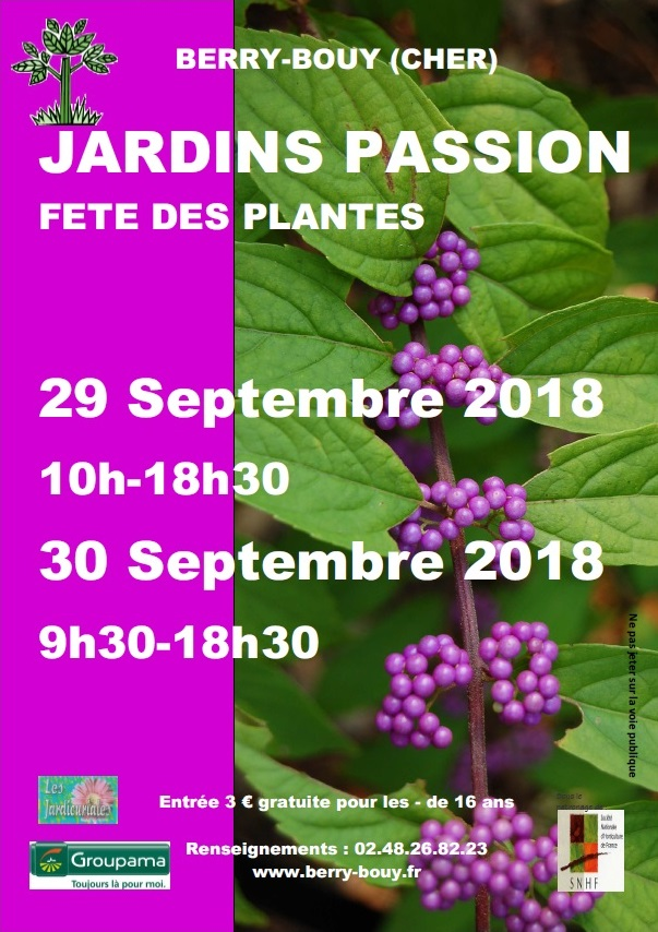 Jardins Passion 2018